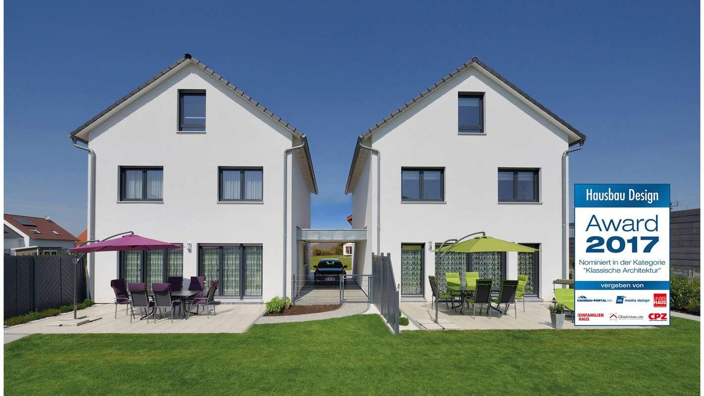 Nominiert für den Hausbau Design Award in der Kategorie Klassische Architektur - Haus Kunz